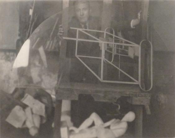 La Glissiere de Marcel Duchamp, 1917