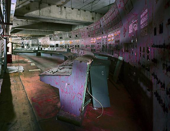 Control Room, Reactor 4, 2001