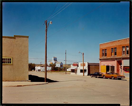 Main Street, Gull Lake, Saskatchewan, August 18, 1974