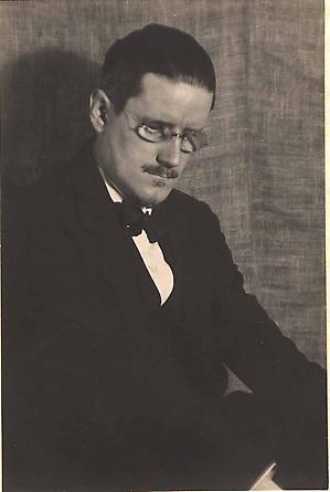 Man Ray, James Joyce, 1922