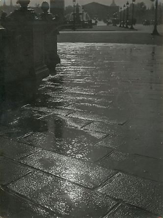 Pavement Reflection, Place de la Concorde, 1930's