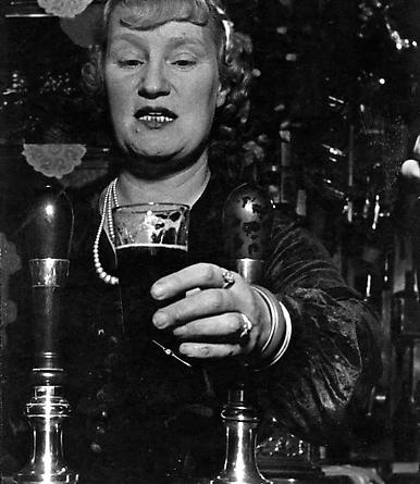 London Barmaid, Stepney, c. 1939