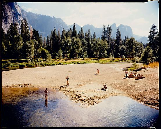 Stephen Shore Merced River, Yosemite, National Park, California, August 13, 1979