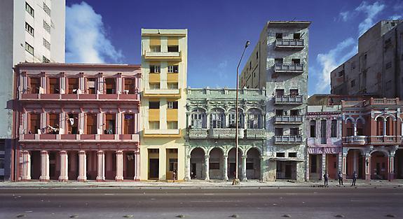 Facades, El Malecon, Havana, No 2, Havana, 1997
