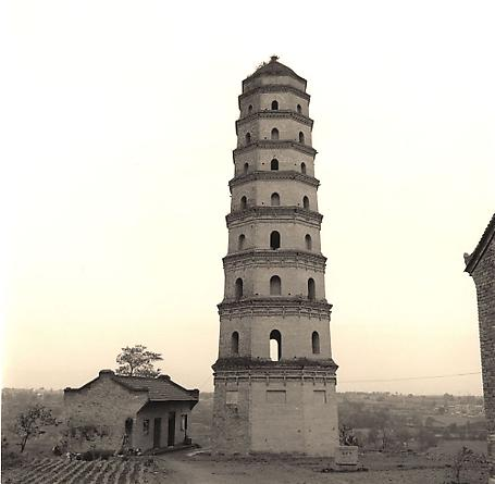 Pagoda, outside Xi'an, 2001