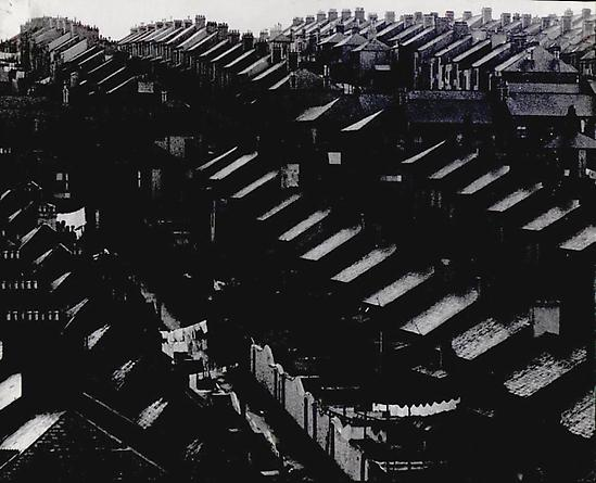 Rainswept Roofs, South London, 1933