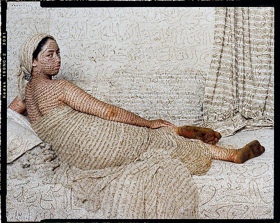 Lalla Essaydi Les Femmes du Maroc: La Grande Odalisque, 2008