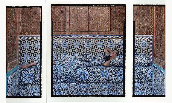 Harem #18B triptych