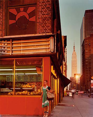 Joel Meyerowitz Young Dancer, 34th St & 9th Ave, New York City, 1978