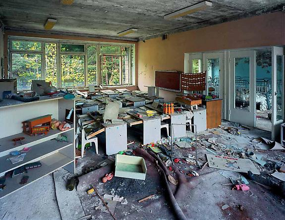 Classroom in Kindergarten #7, 2001