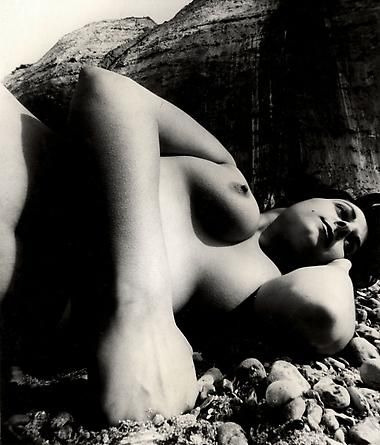 Nude, East Sussex Coast, May 1957
