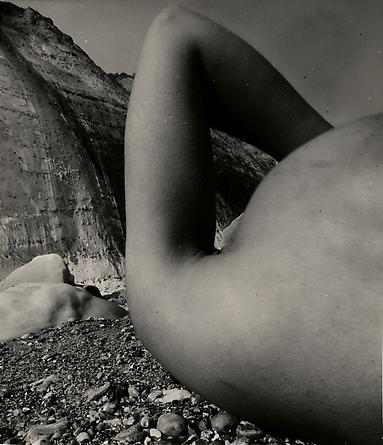 Nude, Vasterival Beach, Normandy, May 1957