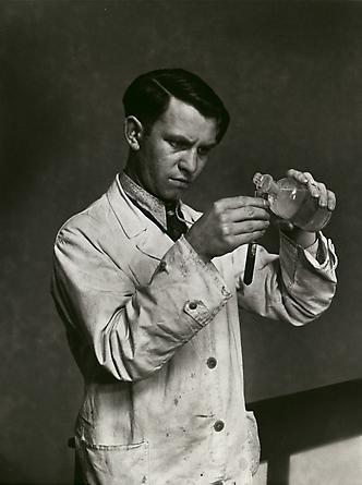 August Sander Laboratory Technician, 1938 © SK-Stiftung Kultur – August Sander Archiv VG-Bild Kunst, Bonn