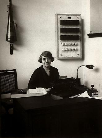 August Sander Office Worker, c. 1928 © Die Photographische Sammlung/SK Stiftung Kultur, August Sander Archiv, Köln; ARS, NY
