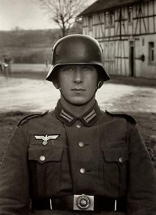 August Sander Soldier, c. 1940 © Die Photographische Sammlung/SK Stiftung Kultur, August Sander Archiv, Köln; ARS, NY