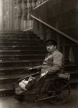 August Sander Disabled Ex-serviceman, c. 1928 © Die Photographische Sammlung/SK Stiftung Kultur, August Sander Archiv, Köln; ARS, NY