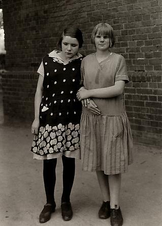 August Sander Blind Girls, c. 1930 © Die Photographische Sammlung/SK Stiftung Kultur, August Sander Archiv, Köln; ARS, NY