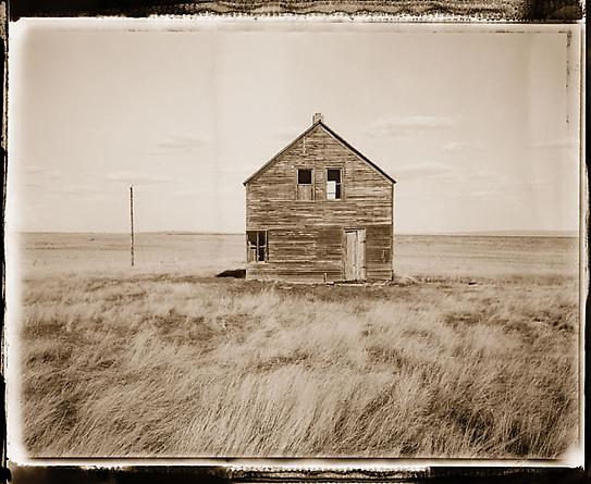 Abandoned Homestead, Corson County, South Dakota, 2000