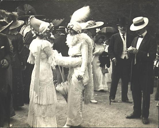 At the Races, 28 June 1912 [JHL 556]