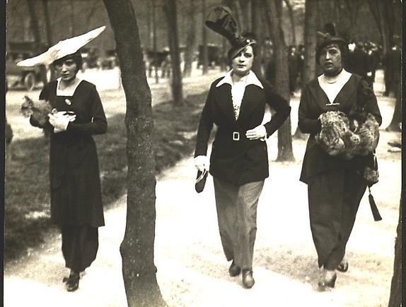 Au Sentier de la VErtu le Matin, 1912 [#11A]
