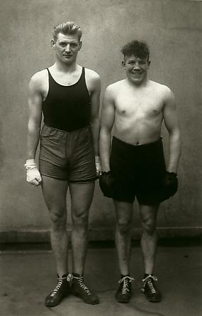 August Sander Boxers, Paul Röderstein and Hein Hesse, Cologne, 1929