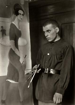 August Sander Painter [Gottfried Brockmann], 1924