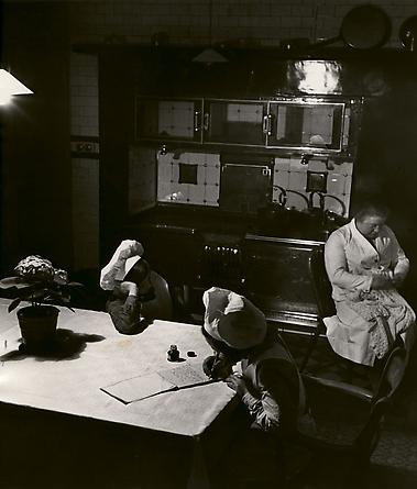 Late Evening in the Kitchen, 1938