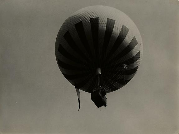 Balloon over Paris, c. 1930