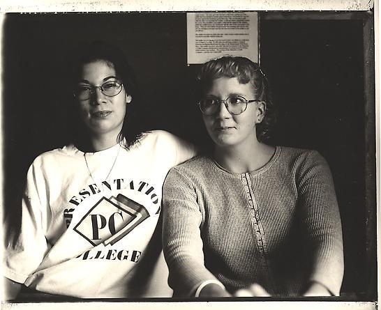 Bobbie Traversie and Yvonne McGinnis, Eagle Butte, South Dakota