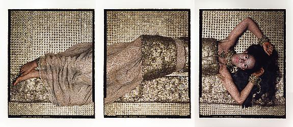 Bullets Revisited #1, triptych, 2012