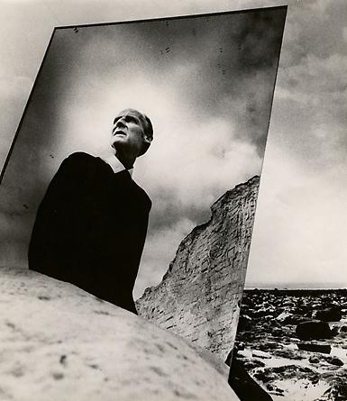 Self Portrait with Mirror, East Sussex Coast, 1966