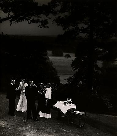 Cocktails in a Surrey Garden, c. 1935