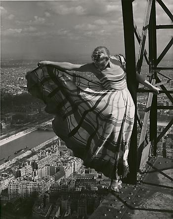 Paris Vogue, Eiffel Tower, May 1939