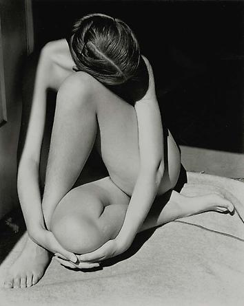 Nude (Charis in the doorway), 1936