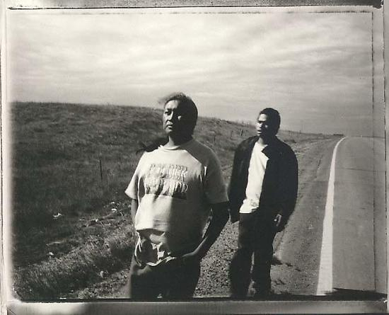 Charles and Robin White Butterfly, Wounded Knee, South Dakota, 1997