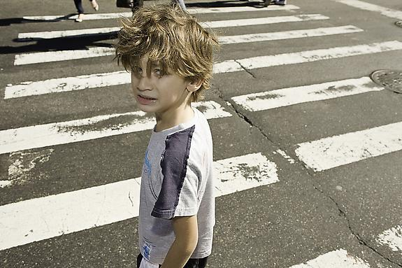 Crossing The Street By Himself For The First Time, 2010