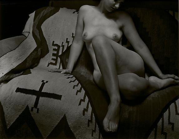 Nude on Rug, 1945