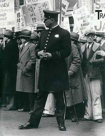 Street Demonstration,  San Francisco, 1933
