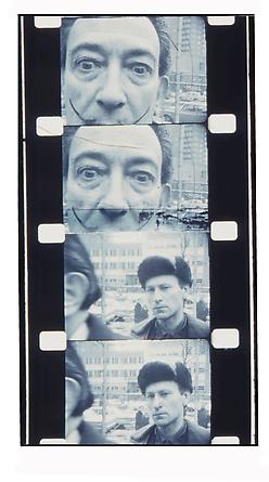 Jonas Mekas Salvador Dali and myself, 1963