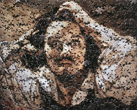 The Desperate Man, After Courbet (self portrait), 2007 From Gordian Puzzles