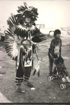 Eric Wells, Heart Butte Pow Wow, 1998