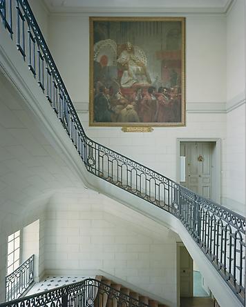 Escalier de Provence AMI.04.013, Attique de Midi, Aile du Midi, Attique, Versailles, 2005