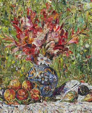 Flowers and Fruit, After Renoir, 2013 From Pictures of Magazines 2