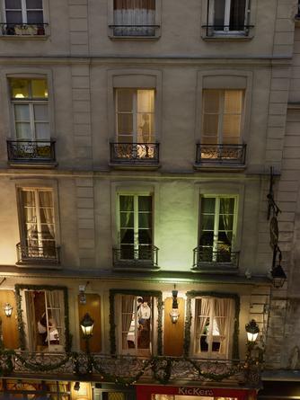 Rue de l'Ancienne Comedie, Paris, 6e, le 16 novembre