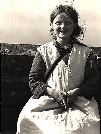 Girl, Western Ireland, 1954