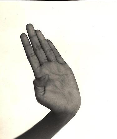 Hand, Indonesian Dancer, Java, 1958