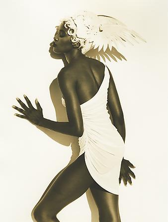 Herb Ritts Naomi, Heavenly Bodies, Los Angeles, 1990