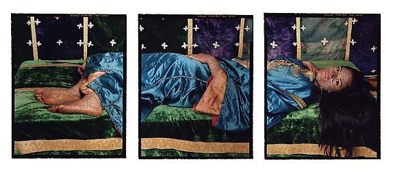 Harem Revisited #37, triptych, 2012