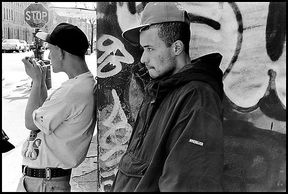 Kenny and Slex, Bushwick, 1992
