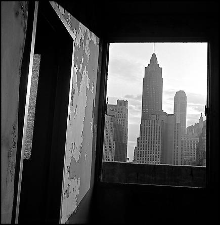 View South from 100 Gold Street, Lower Manhattan, 1967